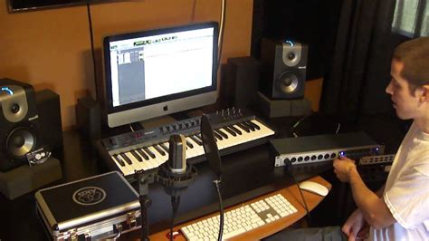 how to set up a home recording studio the basics needed