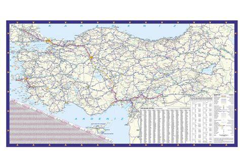 mapa de carreteras de 8499358500 mapa de carreteras turqu 237 a