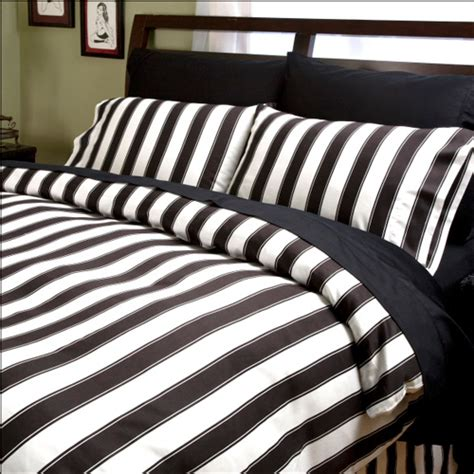striped bed sheets black and white stripe pillowcases and shams pillowcases