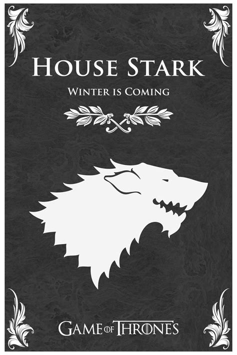 house of stark game of thrones house stark by stanxv on deviantart