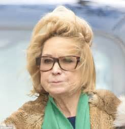felicity kendal hairstyle felicity kendal battles the wild elements in london