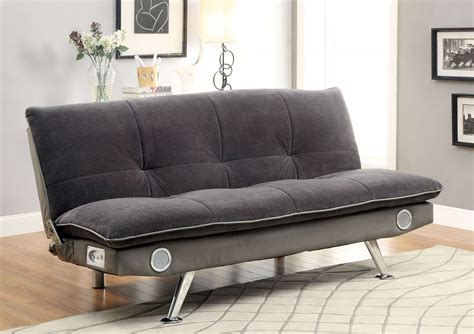 futon with speakers gallo sofa bed with bluetooth speakers futons