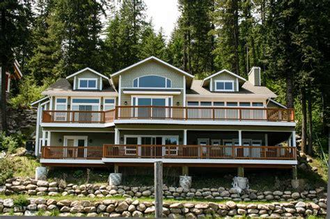 Cabin Rentals Coeur D Alene Idaho by Beautiful Lakefront Custom 4 Bd Vacation Rental In Coeur