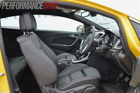 Opel Astra 2012 Interior by 2012 Opel Astra Gtc Sport Review Performancedrive