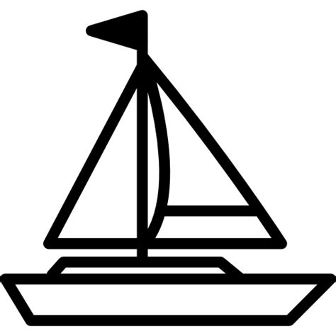 big boat icon big sailing boat free transport icons