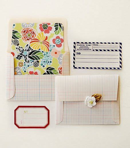 Handmade Envelopes Pattern - 1000 ideas about envelopes on gift