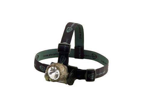 streamlight hat lights streamlight buckmasters camo trident headl 3x green leds