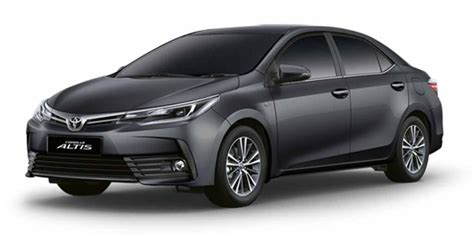 toyota carolla altis 2017 toyota corolla altis facelift launched price