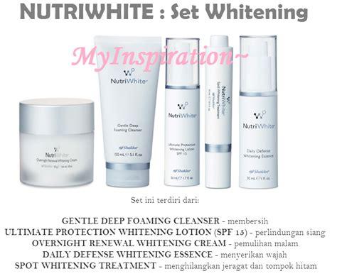 Pencuci Muka Estee Lauder set skincare nutriwhite shaklee lengkap untuk kecantikan wajah