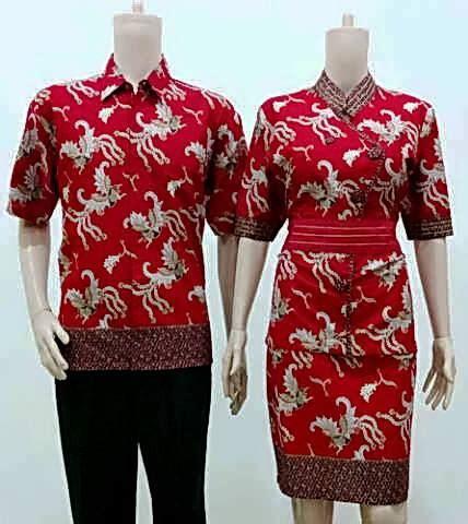Batik Motif Batu Bisa Dibeli Terpisah 1 jual pakaian seragam batik kantor kode sr 754 baju batik