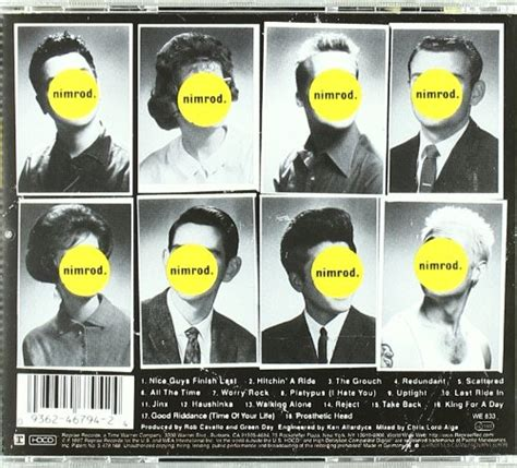 Green Day Nimrod Cd album or cover green day nimrod images