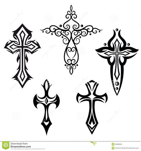 crosses crucifix stock image image of emblem