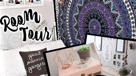 Teenage Bedrooms Ideas tumblr room tour 2016 youtube