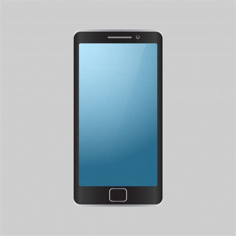 mobile cell phone isolated mobile phone background vector free