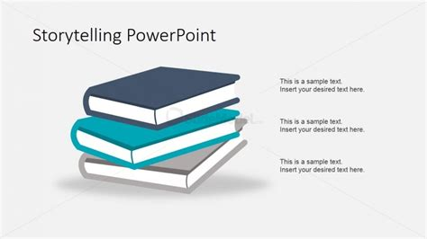 design is storytelling books story books shapes for powerpoint slidemodel