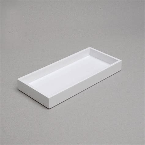 ceramic tray for bathroom mini lacquer bathroom kitchen tray by nom living