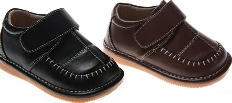 Toddler Boy Size 7 Dress Shoes by Boy Leather Dress Squeaky Shoes Sq766db Toddler Size 1 7 Ebay