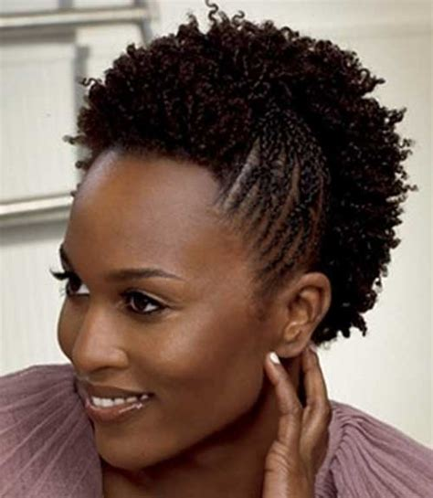 braids for short natural hair short braided hairstyles for black women the best short