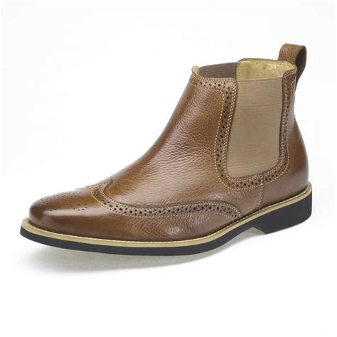 preppy mens boots anatomic shoes sale mens leather boot from mozimo