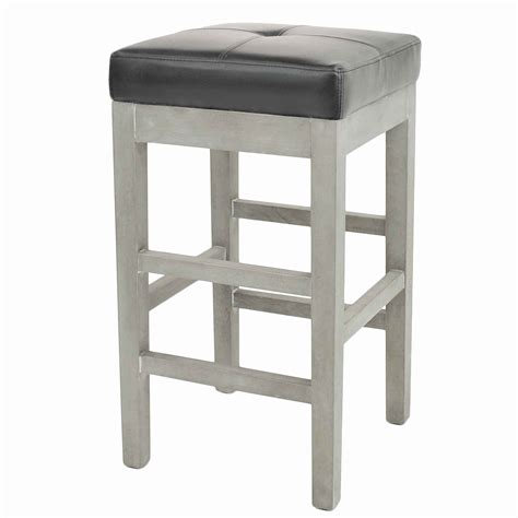 Valencia Backless Counter Stool by Valencia Bonded Leather Backless Counter Stool Mystique