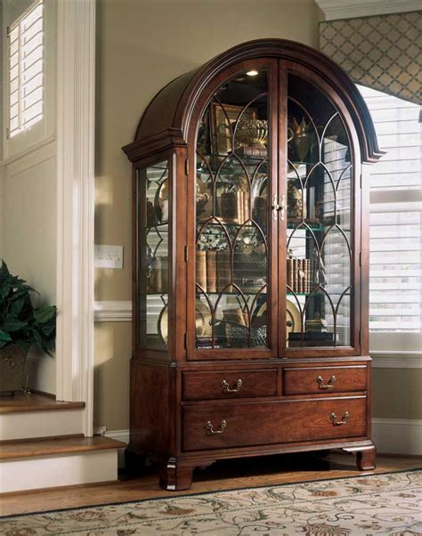 drew cherry grove china cabinet drew cherry grove display china cabinet