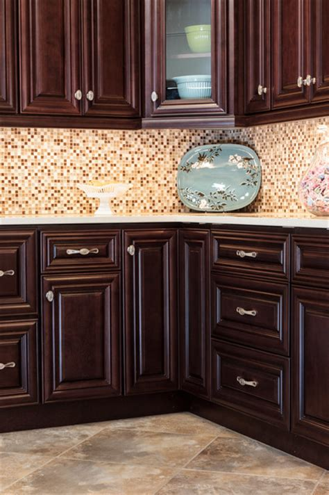 chocolate kitchen cabinets palm beach dark chocolate kitchen cabinets traditional
