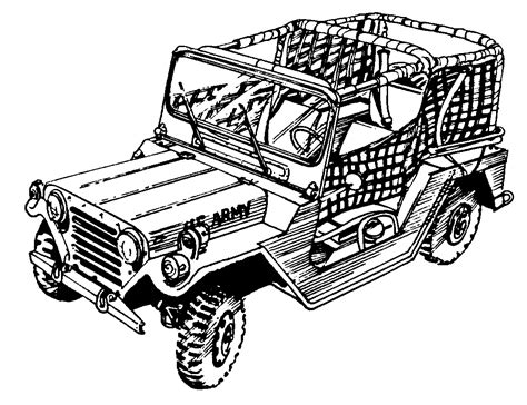 army jeep drawing military clip art gallery