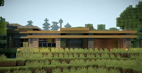 minecraft survival house designs minecraft modern survival house by andrewvtw on deviantart