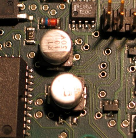 what are leaky capacitors recapping the spectra