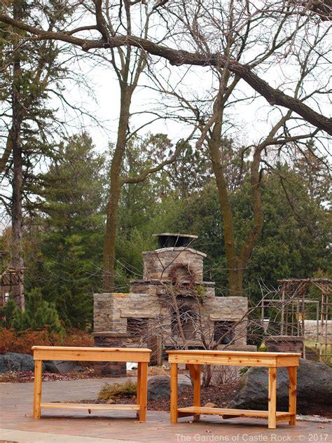 The Gardens Of Castle Rock Garden Tables Wedding The Gardens Of Castle Rock