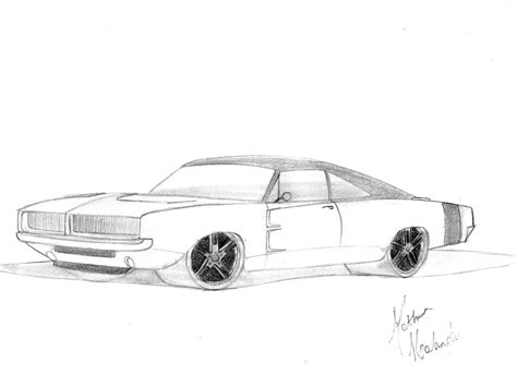 Mh Customs Designs Dodge Charger 1970 Dodge Charger Para Colorir