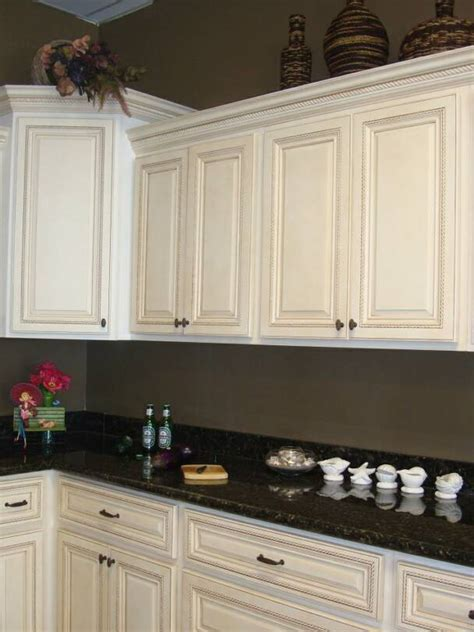 An Antique White Kitchen Cabinet And Furniture Yes Or No Antique White Kitchen Cabinets