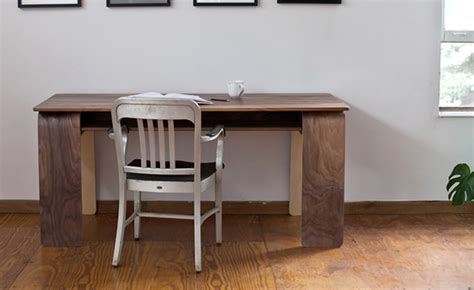 Living Room Interior Design With The Horsey Desk By Plywood Office Desk