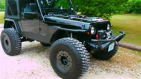 Raised Jeeps For Sale Lifted Stroker Jeep Wrangler Turbo For Sale Walk Around