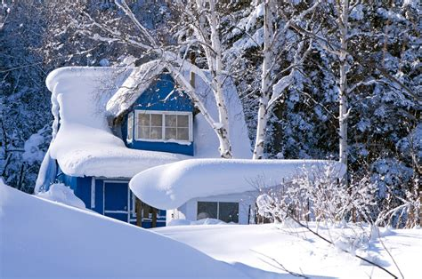 house snow how to remove snow from your roof and car hirerush