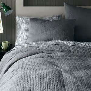 Grey Duvet Cover Modern Furniture Home Decor Home Accessories West Elm