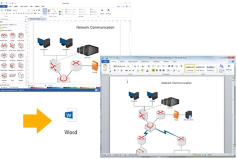 how to create a network diagram in word wiring diagram