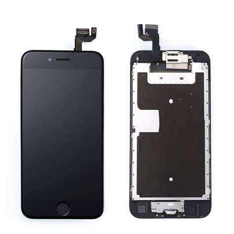 black lcd touch screen display digitizer assembly
