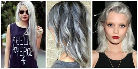 whats the style for hair color in 2015 grey hair style 2015 the fashion tag blog