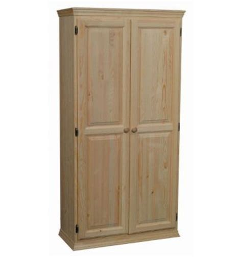 36 Inch Pantry Cabinet by 36 Inch Afc 2 Door Pantry 70 Quot H Bare Wood Wood