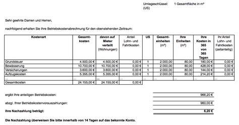 Nebenkostenabrechnung Wohnung by Nebenkosten Und Mehrwertsteuer Wie Abrechnen
