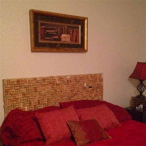cork board headboard pin by kay howard on do this project pinterest