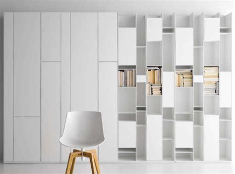 storage walls modular wall storage system by mdf italia random