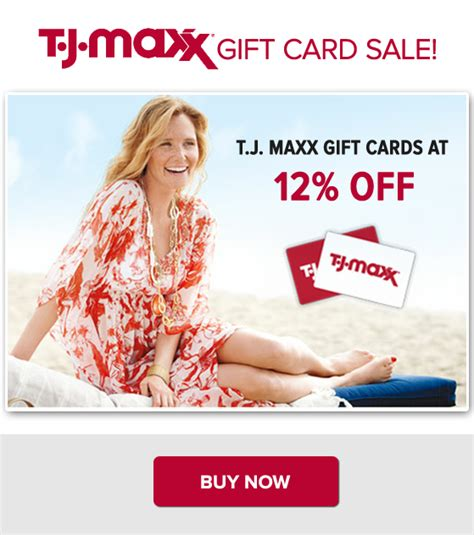 Tj Maxx Gift Card For Cash - t j maxx gift cards sale and more beyond the coupon