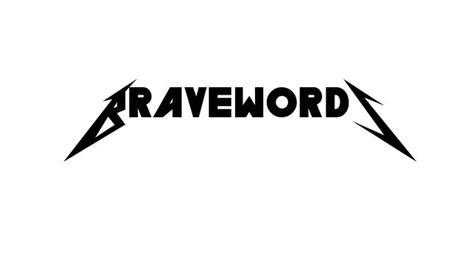 metallica dafont generate your own metallica logo bravewords