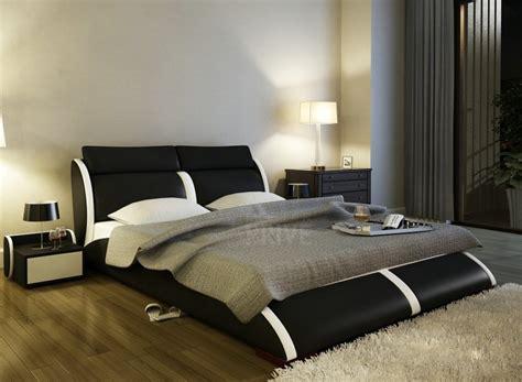 tete de lit luxe lit en cuir italien de luxe arthus noir mobilier priv 233