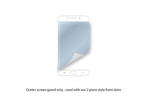 Samsung S6 Edge Skin Guard Skin Protector Carbon Transparan Grid battleship grey matte antibacterial samsung galaxy s6