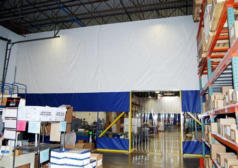 warehouse curtain warehouse curtains amcraft amcraft industrial curtains