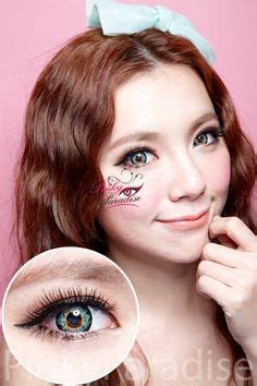 eos ice pink | circle lenses, color contacts and hair makeup