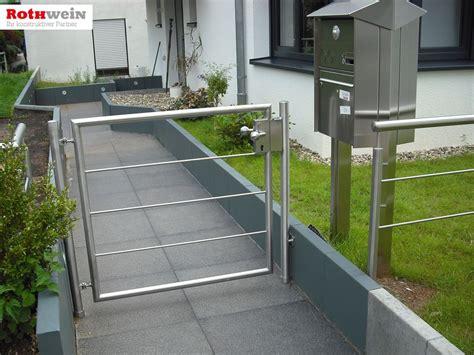 Gartentor Edelstahl Modern by Tore Und T 252 Ren Rothwein
